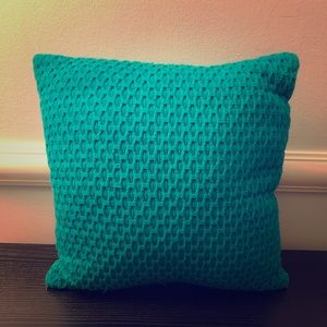 Other - ✨ Teal Woven Throw Pillow ✨